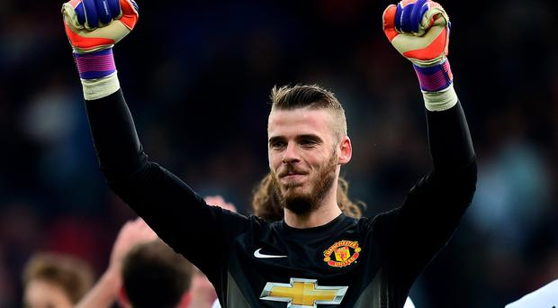 Big turnaround: David de Gea is set to sign a £4m a year deal at United after his move to Real Madrid collapsed