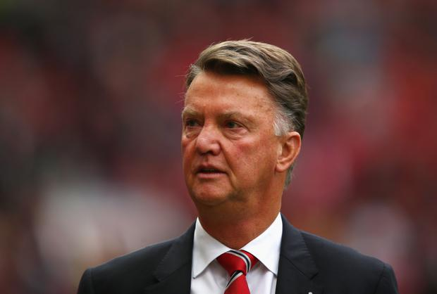 High flyers: Louis van Gaal admits City hold upper hand