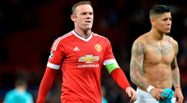 Mancheter United skipper Wayne Rooney