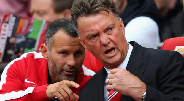 Future pointers: Ryan Giggs and Louis van Gaal