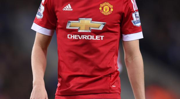 Staying put: Manchester United's Paddy McNair