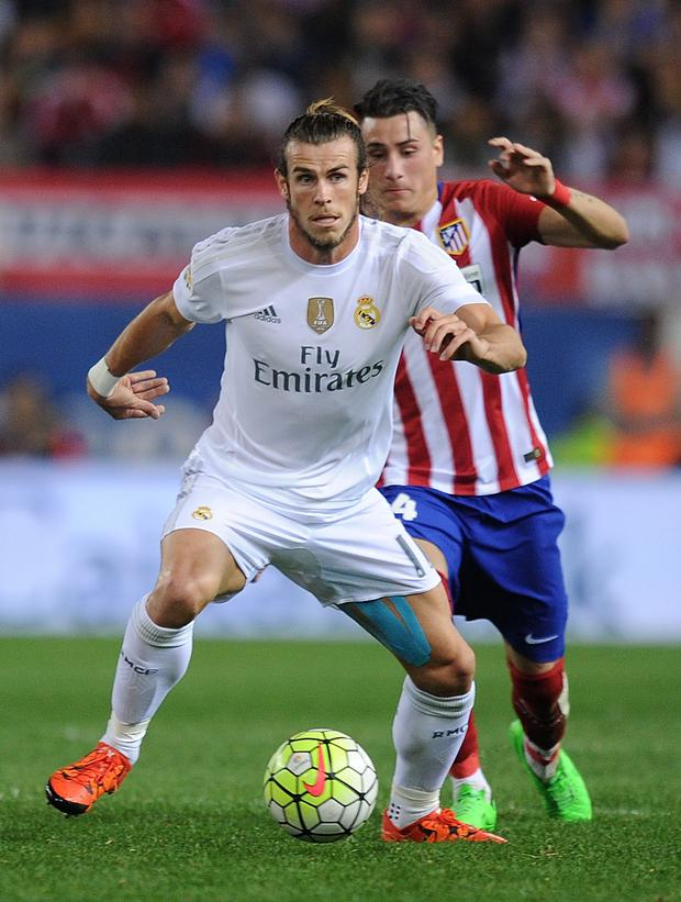 Staying put: Gareth Bale is unlikely to leave the Bernabeu