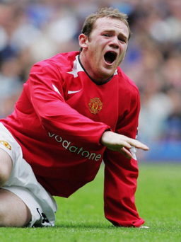 Familiar story: The injury Wayne Rooney sustained at Stamford Bridge in 2006 was just one in a number of pre-international tournament woes suffered by the Manchester United striker