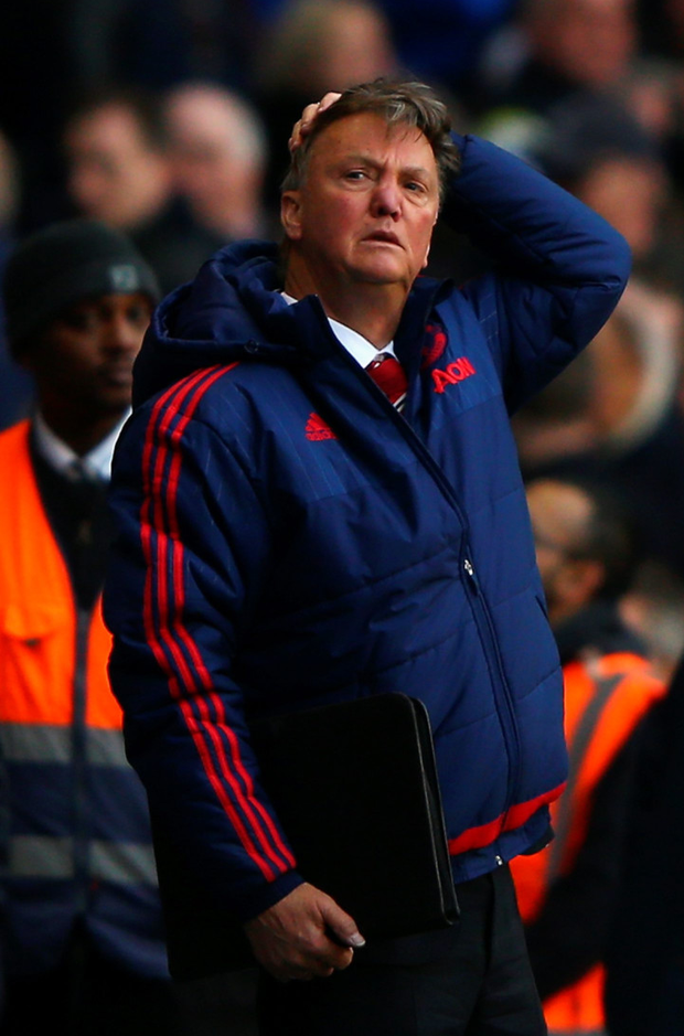 No go: Louis van Gaal turned down Spurs for the United job