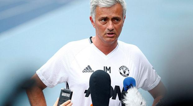 Worried: Jose Mourinho was right to have concerns over the pitch in Beijing