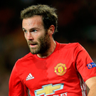 Red mist: Man United's Juan Mata