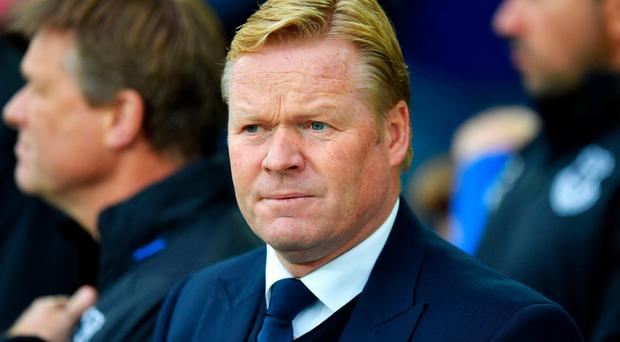 Big fan: Ronald Koeman is interested in signing Wayne Rooney