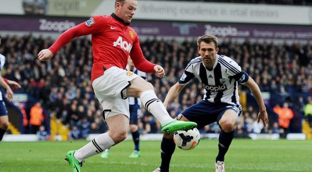 Respect: Gareth McAuley is a big admirer of Wayne Rooney