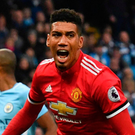 Derby delight: Chris Smalling