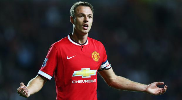 Jonny Evans could be set for a move back to Old Trafford.