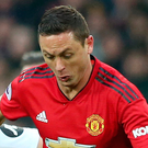 Midfield man: Nemanja Matic is enjoying United's revival