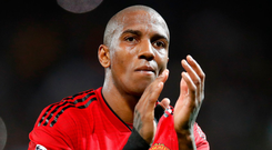Loyal servant: Ashley Young is set to extend his stay at United, having been at the club since a 2011 move from Aston Villa