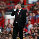Tough watch: Ole Gunnar Solskjaer's side have found goals hard to come by this season