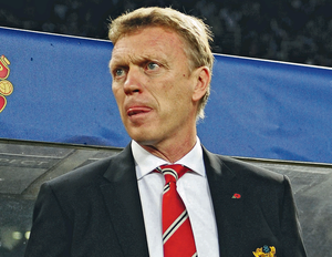 David Moyes has his work cut out if United are to make it into the Champions League places