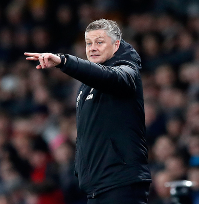 Expert advice: Ole Gunnar Solskjaer is happy to go with what he's told