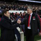 In hand: Mauricio Pochettino is better suited than Ole Gunnar Solskjaer to lead this misfiring Manchester United side