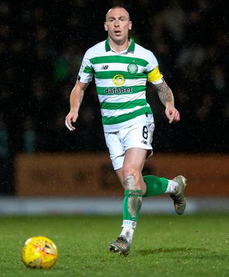 No let-up: Scott Brown is keen for Celtic to drive standards