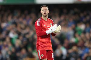 Glove affair: NI ace Trevor Carson is back after 21 months on the sidelines