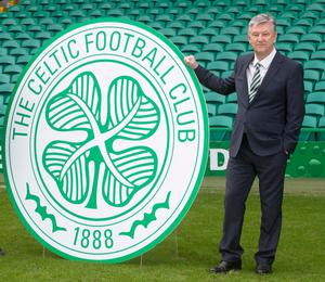 Stepping down: Peter Lawwell will leave his post in June