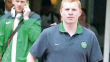 Looking ahead: Neil Lennon is striding towards the next chapter of his managerial career after departing Celtic