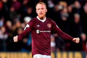 Liam Boyce is among four Northern Ireland internationals currently playing for Hearts.