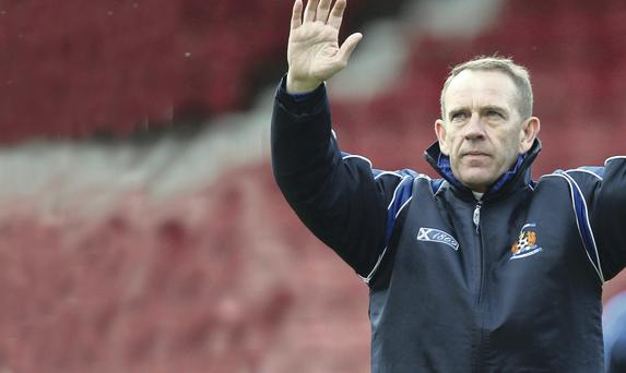 Tired system: Kenny Shiels feels that Scottish football is lacking in imagination