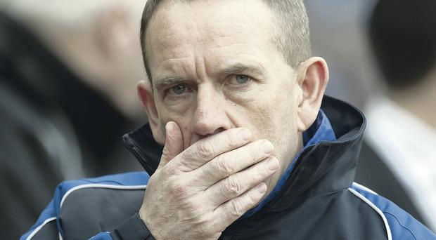 Kenny Shiels hoping to avoid more controversy by not talking to the Press after games