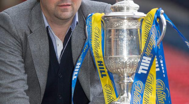 Eyes on cup: Paul Hartley's side was drawn against Celtic