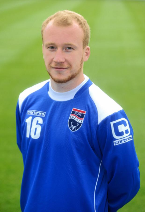 Goalden touch: Liam Boyce has been in super form in Scotland