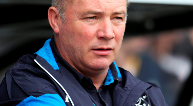 Rangers legend and ex-manager Ally McCoist