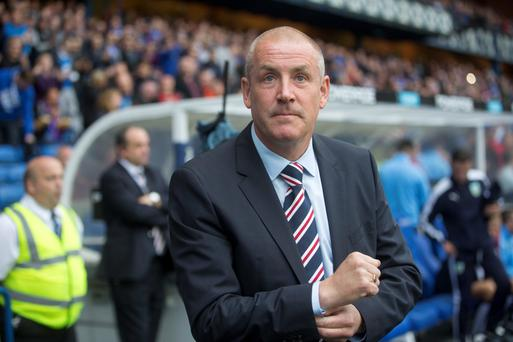 Gers boss Mark Warburton