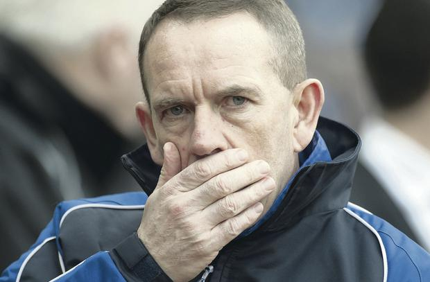 Keeping cool: Kenny Shiels has no fixture fears
