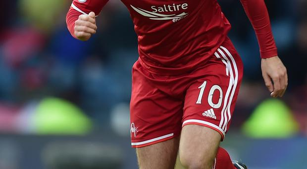 Big finish: Niall McGinn wants to deliver for Aberdeen