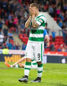 Celtic striker Lee Griffiths