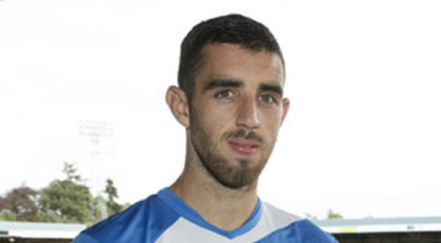 Raring to go: Joe Gormley has joined St Johnstone on loan