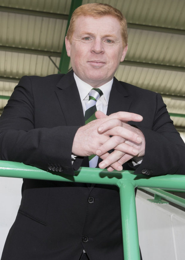 Top man: Neil Lennon has led Hibs to five successive wins