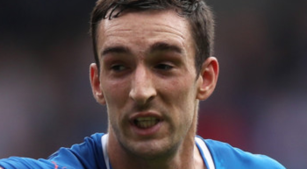 Big plans: Lee Wallace would love to help Rangers get back into Europe
