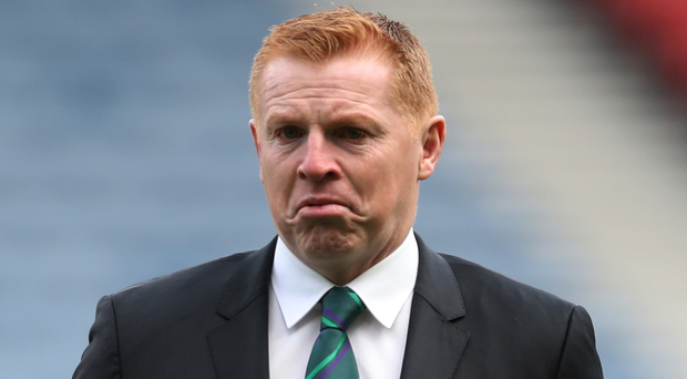 In charge: Hibs' Neil Lennon