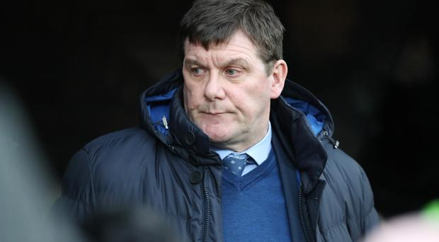 Angry: Tommy Wright has hit back at Pedro Caixinha