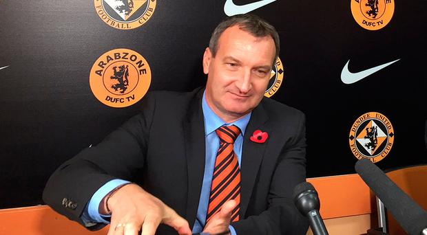 Man in charge: Csaba Laszlo is the new Dundee United boss