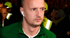 Personal issues: Celtic's Leigh Griffiths is taking a break