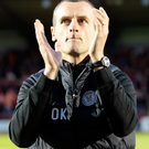 Looking ahead: Oran Kearney is staying positive