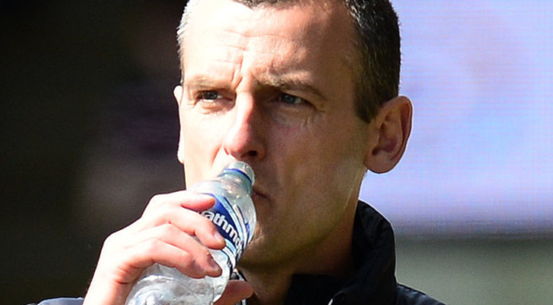 Old face: Oran Kearney is set for a Coleraine return