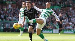 Welcome return: Leigh Griffiths is back to boost Celtic's league quest
