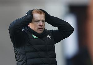 Main mission: Neil Lennon is desperate to return to winning ways with Celtic after a challenging period of results