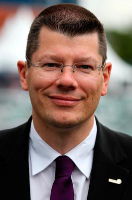 Standing firm: Neil Doncaster has defended himself and the SPFL