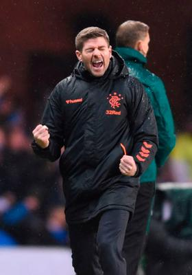 Rollercoaster ride: Steven Gerrard has experienced a range of emotions as Rangers boss
