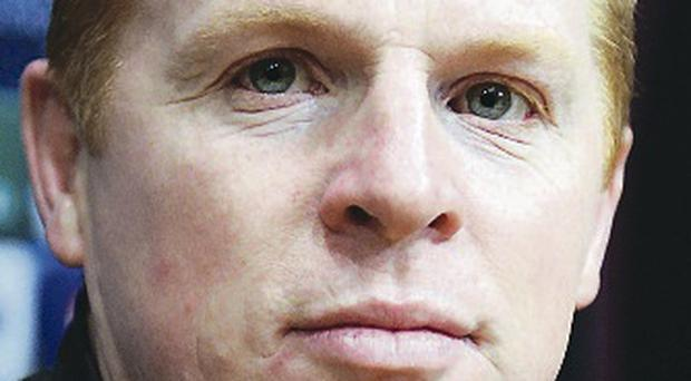 Task ahead: Neil Lennon was focused on the St Johnstone tie