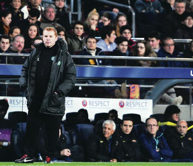 Hate victim: Neil Lennon has come under attack throughout his career as player and boss