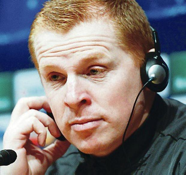 Neil Lennon will lead Celtic at Murrayfield